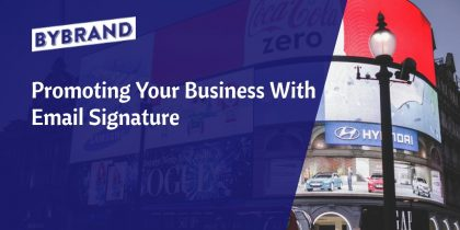 Business email signatures