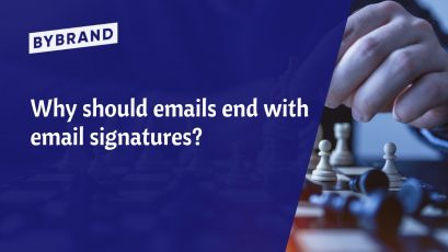 Email messagens end with email signatures
