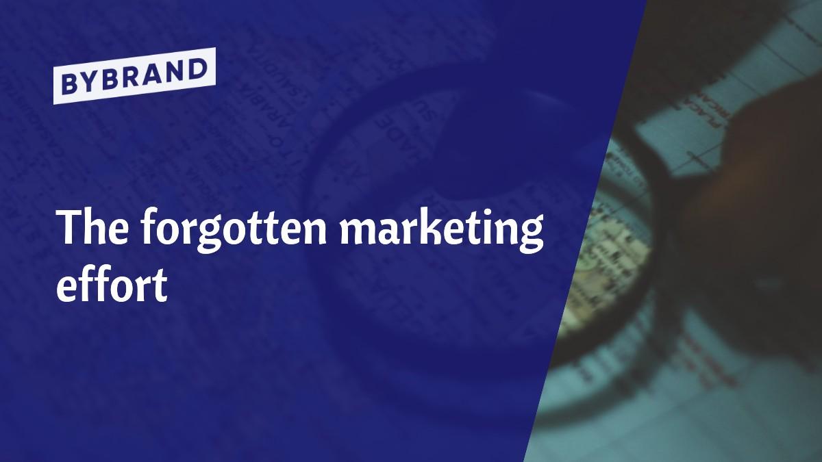 Marketing effort