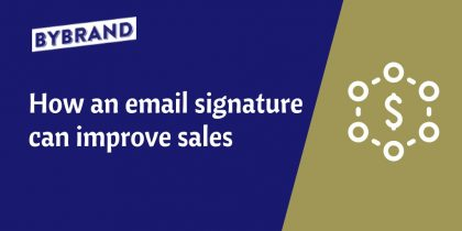 Email signature improve sales