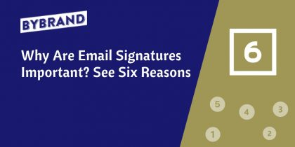 Email signature are important