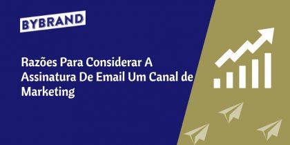 Marketing na assinatura de e-mail