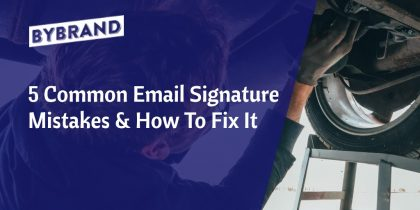 email signature mistakes