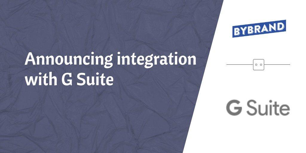 Announcing G Suite integration
