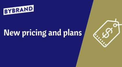 Announcing new pricing and plans