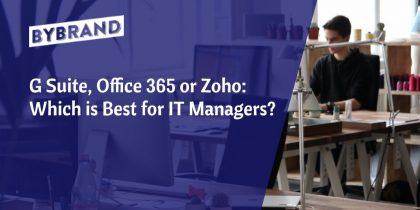 Which best - G Suite, Office 365 or Zoho Workplace