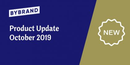 Product update october 2019
