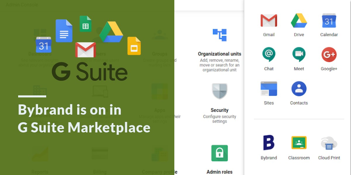 Bybrand is on in G Suite Marketplace