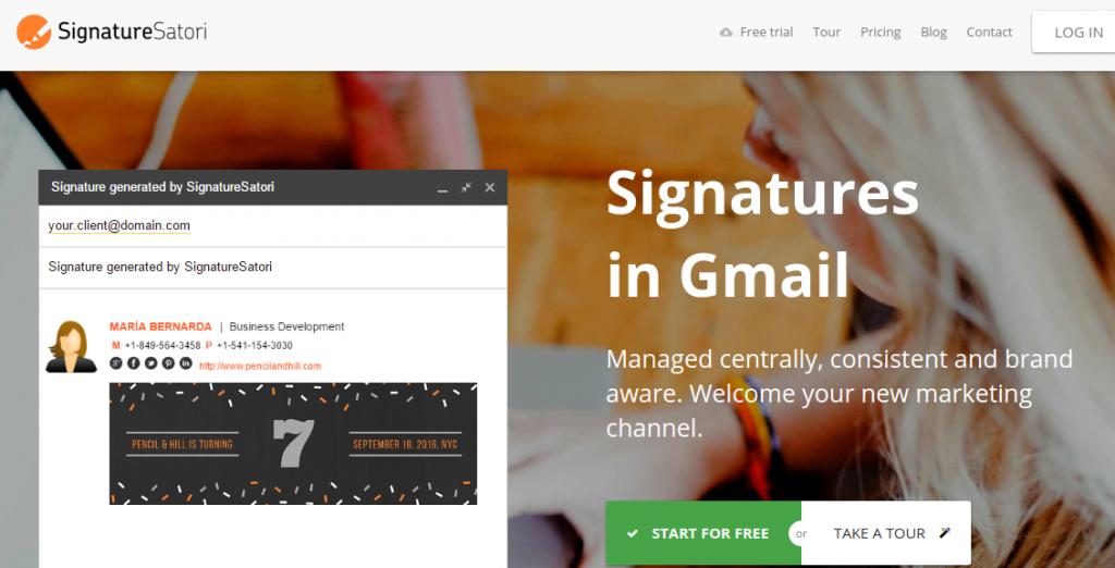 SignatureSatori site