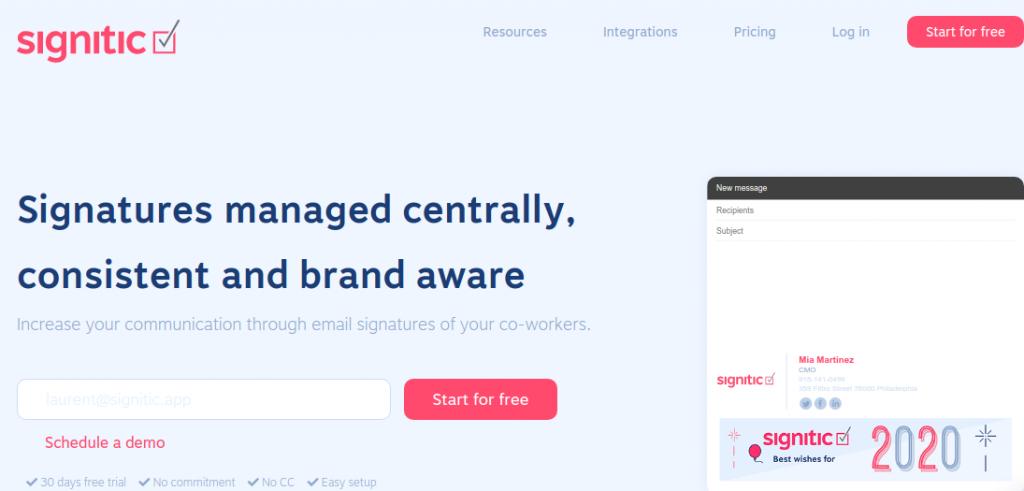 Signitic site