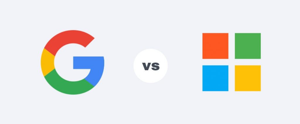 Email hosting for business: Google Workspace vs. Microsoft 365