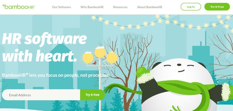 Bamboo HR website