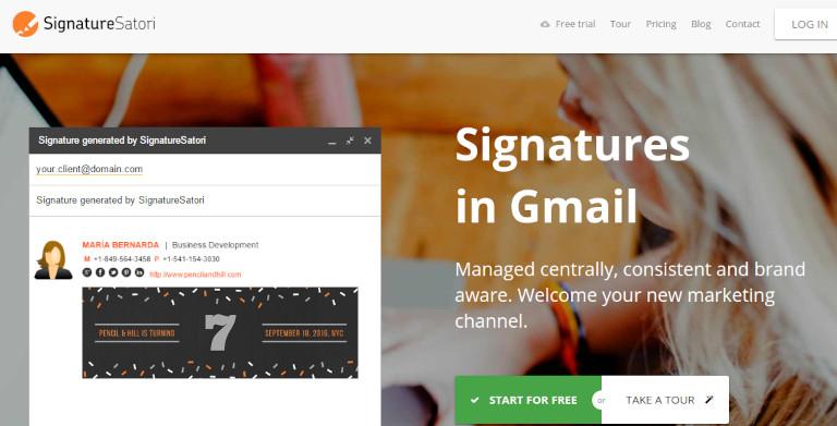 SignatureSatori website