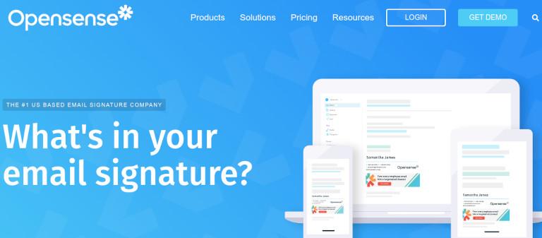 Opensense website