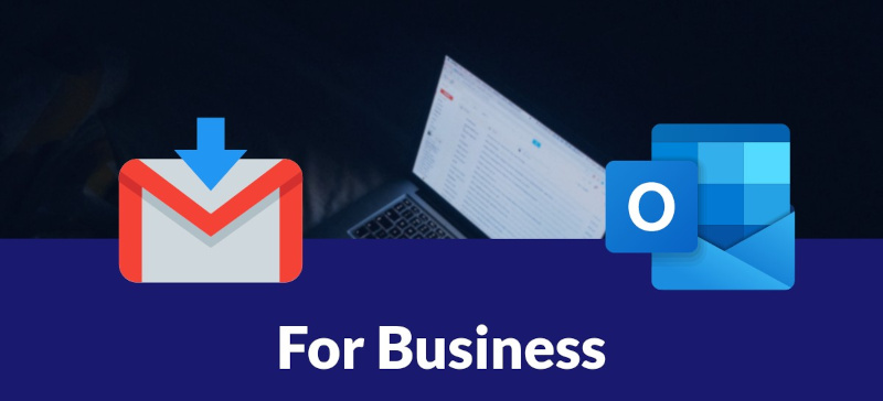 Comparion Gmail vs. Outlook for business