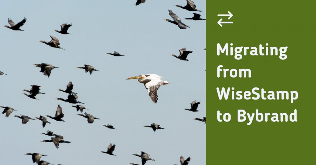 Migrating from WiseStamp to Bybrand