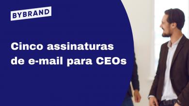 Assinatura de e-mail para CEO