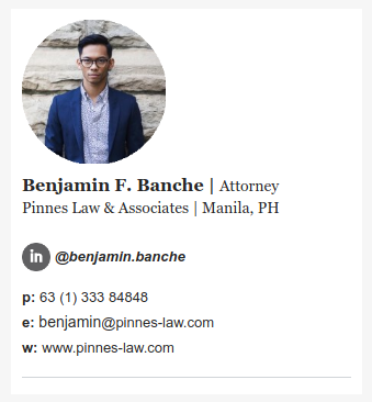 Email Signature for Lawyers - Template 2