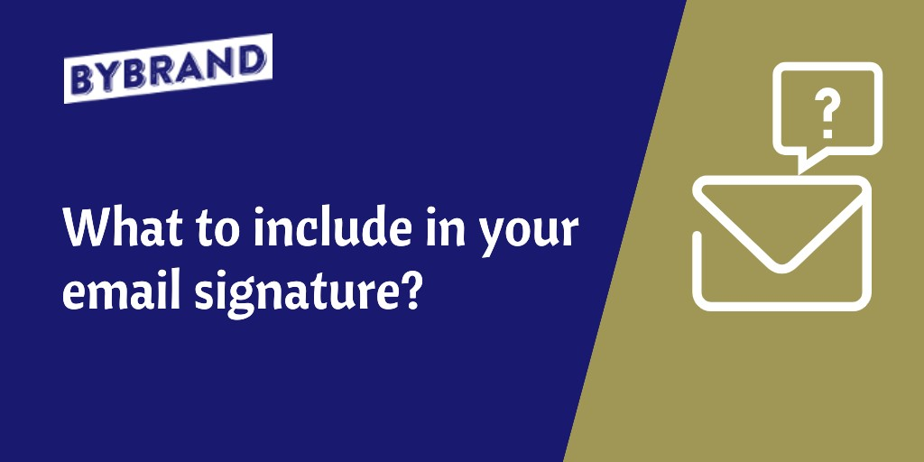 Include in your email signature?