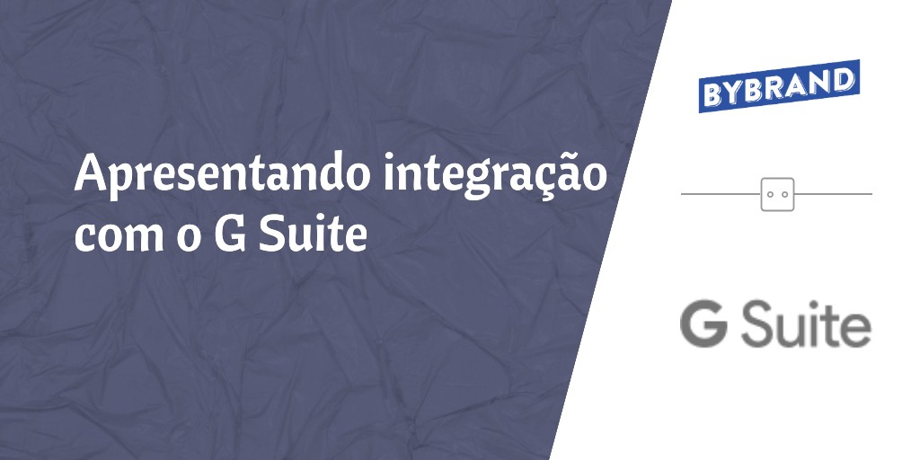 Integração com G Suite do Google