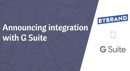 Announcing integration with G Suite