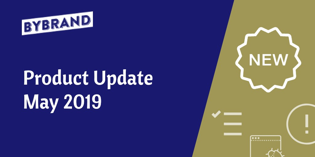 May Update product