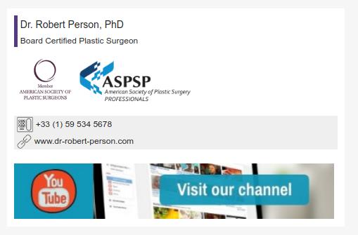Assinatura de email para médicos