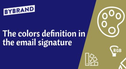 Email Signature Color Definition