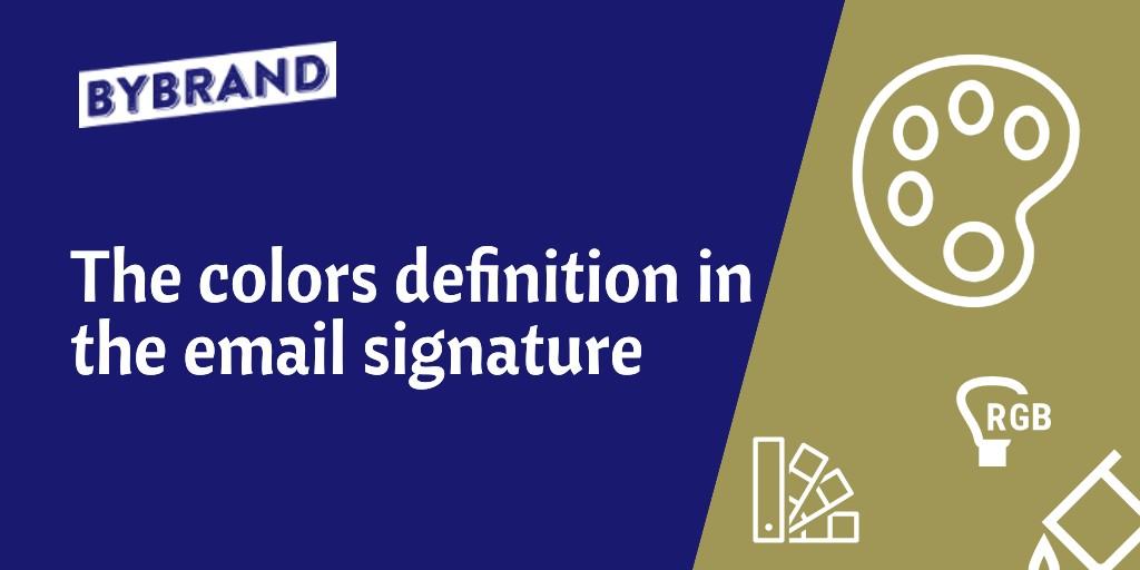 Email Signature Color Definition