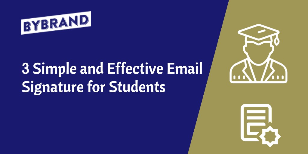 Simple Email Signature for Students