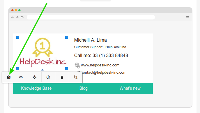 Add logo image to email signature