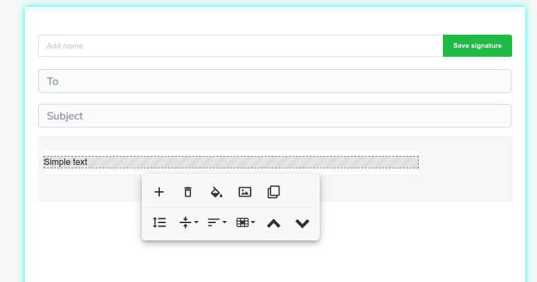 Options of the Bybrand editor
