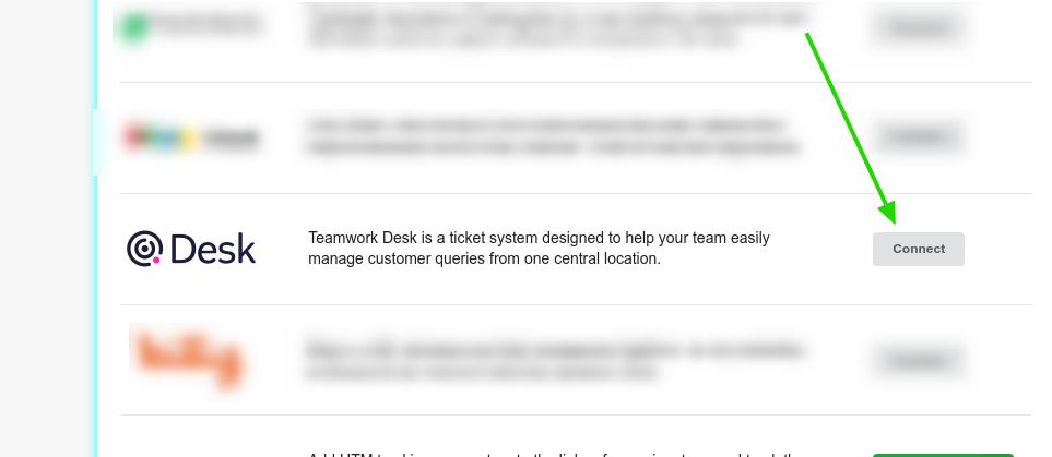 Enable Integration with Teamwork Desk